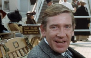 David Warner as Lawrence Beesley in SOS Titanic