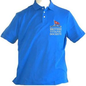 British Titanic Society polo shirt with embroidered logo