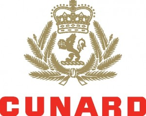 Offical logo of The Cunard Line