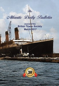 Front cover of the March 2017 Atlantic Daily Bulletin