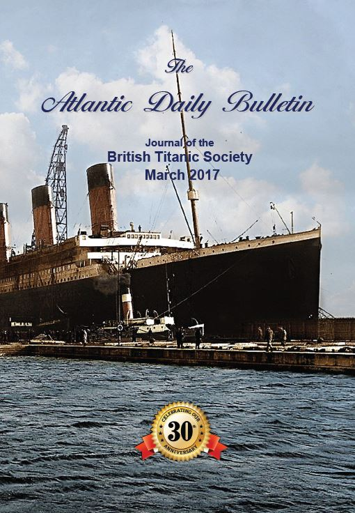 Colour front cover of the Atlantic Daily Bulletin