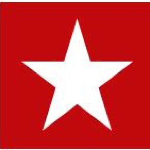 Symbol of the White Star Line - a white star on a red background