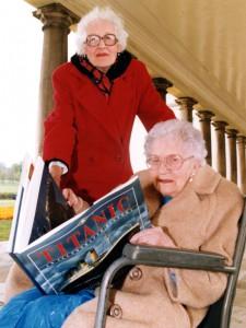 Millvina Dean & Edith Haisman
