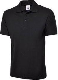 BTS polo shirt in black